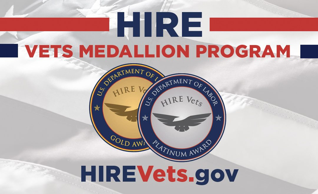Operation: Job Ready Veterans Receives 2020 Hire Vets Medallion Award  from U.S. Department of Labor